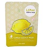 Maschera sgrassante tonificante viso all'estratto naturale di limone.