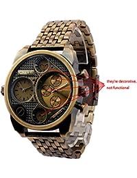 Oulm Uhr von Ufingo uf-wou014b–Armbanduhr Herren, Armband aus Edelstahl Farbe Gold
