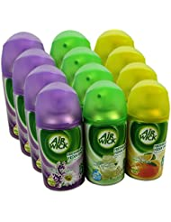 12x Airwick Freshmatic Max Automatic Spray Refills 250ml Mix Pack 4x3 Types