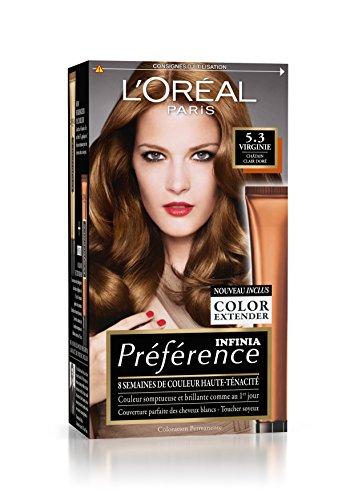 Préférence L'Oréal Paris Coloration Permanente 5.3 Châtain Clair Doré