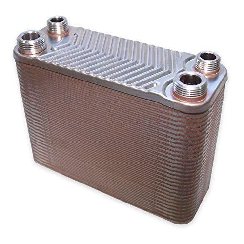 Hrale Edelstahl Wärmetauscher 60 Platten max 130 kW Plattenwärmetauscher Wärmetauscher -