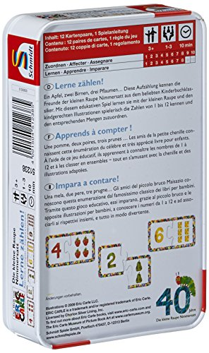 Schmidt-Spiele-51238-Die-Kleine-Raupe-Nimmersatt-Lerne-zhlen