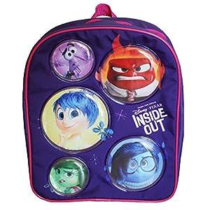 51ZCspf4IuL. SS300  - Inside Out Disney Pixar - Del Revés - mochila niños - con 3D óptica 24 x 31 x 9 cm