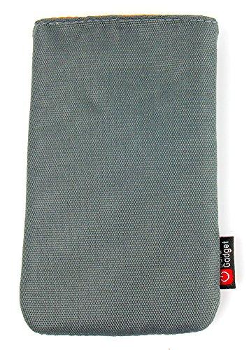 DURAGADGET Polyester-Hülle in Grüngrau und mit Gürtelschlaufe für EIN Retevis RT-388 | EIN Retevis RT-31 Mini Kinder-Funkgerät
