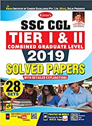 Kiran SSC CGL Tier 1 and Tier 2 Combined Graduate Level 2019 Solved Papers English (2768)