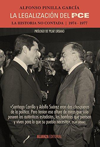 Portada del libro La legalización del PCE: La historia no contada, 1974-1977 (Alianza Ensayo)