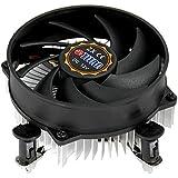 Titan DC-156G925X/R CPU-Kühler für Intel Core i3/i5/i7 Sockel LGA1155, LGA1156 bis 75W schwarz