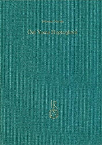 Der Yasna Haptanhaiti por Johanna Narten