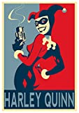 Instabuy Poster DC Heroes Propaganda Harley Quinn (Variant) - A3 (42x30 cm)