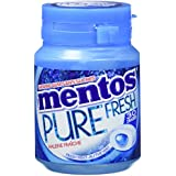 MENTOS GUM Pack de 6 Boîtes Pure Fresh Mint (360 g)