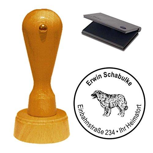 sello-con-cojin-estrela-mountain-dog-perro-mascota-cao-da-serra-da-estrela