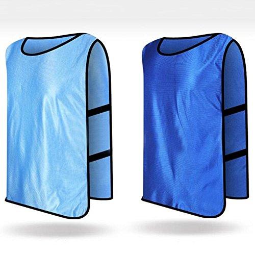 Verlike Training Vests Sports Soccer Bibs Football Shirt Team Uniform Youth Adult