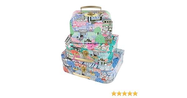 67e558f4f Hello Kitty Liberty London Print Storage Cases: Amazon.co.uk: Kitchen & Home