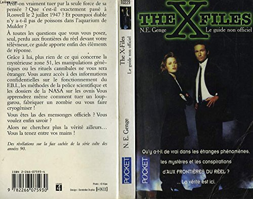 THE X FILES. Le guide non officiel par Ngaire-E Genge