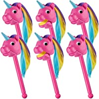 Learning Resources Rainbow Prancers Puppet-on-a-Stick - Pink (Set of 6)
