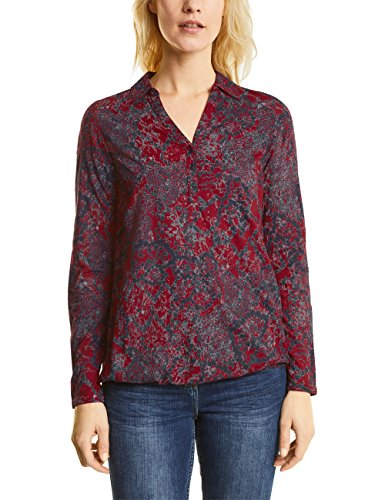 Cecil, Blouse Femme Rot (Cranberry Red 31088)