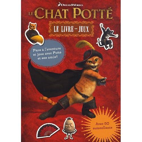 Le Chat Potté - Le livre-jeux