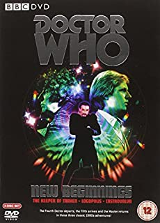 Doctor Who: New Beginnings (The Keeper of Traken/Logopolis/Castrovalva) [DVD] [1963] (B000LE1HLQ) | Amazon price tracker / tracking, Amazon price history charts, Amazon price watches, Amazon price drop alerts