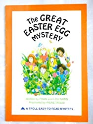 The Great Easter Egg Mystery (Troll Easy-To-Read Mystery) by Fran Sabin (1981-09-02)