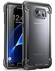 Carcasa para Samsung Galaxy S7 Edge 2016, Funda cubierta protectora SUPCASE Unicorn Beetle serie Premium Hybrid (Frost/Black)
