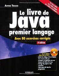 Le livre de Java premier langage (1Cédérom)