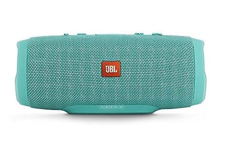 JBL Charge 3 Portable Bluetooth Waterproof Speaker - Teal
