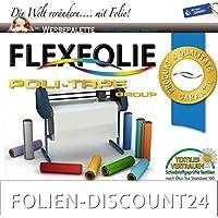 FLEXFOLIE BÜGELFOLIE 1 METER x 500mm POLI-FLEX PREMIUM WEISS 401