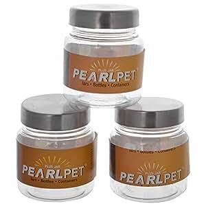 Pearlpet Plus Jar Set (Pack Of 3)