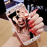EMAXELERS Galaxy J7 2017 Coque pour Femme Fille Luxury Glitzer Bling Cristal Clair...