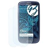 Bruni Schutzfolie für Samsung Galaxy S3 Neo (GT-i9301) Folie - 2 x glasklare Displayschutzfolie