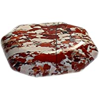 budawi® - Taschenstein Breckzienjaspis 40 x 30 mm, Auflagestein Breckzienjaspis , Massage Stein, Jaspis preisvergleich bei billige-tabletten.eu