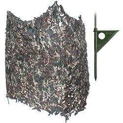 Puesto de Caza 4 Paredes Super Light para Caza, Pesca, Camping, Outdoor, Supervivencia y Bushcraft Barbaric Force 33180 + Portabotellas de regalo