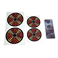 The Toy Restore Decals Stickers DIY Kids Play Kitchen 4 Burners and Dials Toy Stove Pretend Glossy Full Color