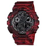 Casio G Shock Analog Digital Grey Dial Men's Watch, GA-100CM-4ADR (G579)