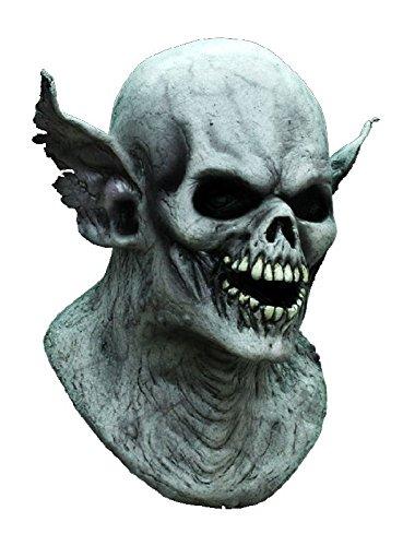 aske aus Latex zum Dämon Kostüm Halloween (Halloween Gargoyle-kostüm)