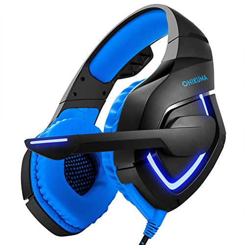 Gaming Headset Balai M180 PS4 Gaming Headset Over Ear Stereo Bass Gaming Headphone with Noise Isolation Microphone for PS4 Xbox One S PC Mobile Phones