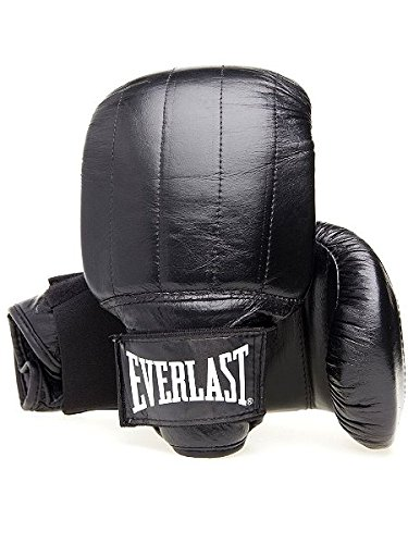 Everlast Erwachsene Boxartikel 1802 Pvc Pro Bag Gloves Boston, Black, XL, 057204 03370