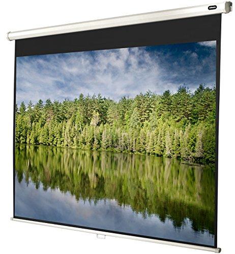 celexon manuell ausziehbare Rollo-Beamer-Leinwand Economy - 180 x 135 cm - 4:3 - Gain 1,0 - Full-HD und 4K