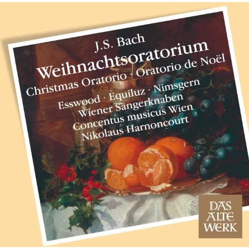 "Weihnachtsoratorium [Christmas Oratorio] BWV248 : Part 1 ""Bereite dich, Zion"" [Counter-Tenor]"