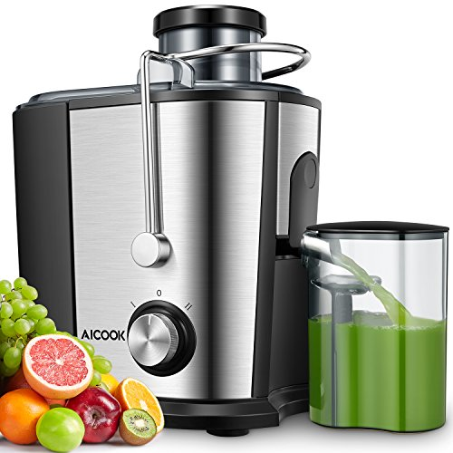Juicer Machine, Aicook 600W Wide...