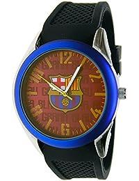 Reloj analógico de caballero F.C.BARCELONA - Bisel azul - Escudo F.C.Barcelona