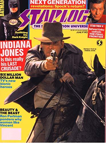 Starlog Magazine The Sci Fi Comics: June 1989 (English Edition)