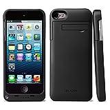 I-Blason PowerGlider iPod Touch 5. Generation/6. Gen Aufladbarer externer Akku Regler, Full Schutz Fall mit Apple neue 8Pin Lightning Ladekabel Stecker