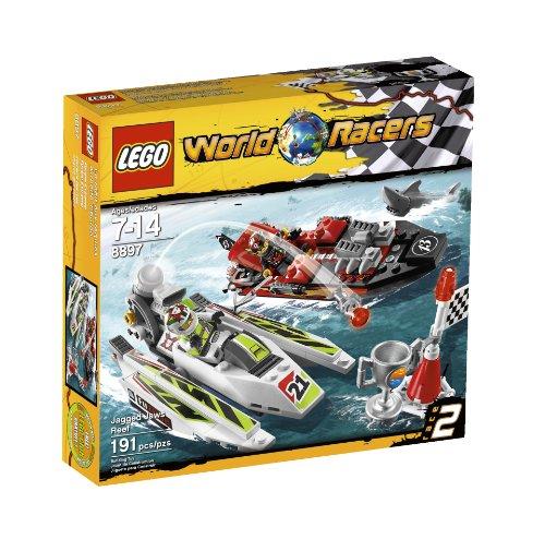 Preisvergleich Produktbild LEGO World Racers Jagged Jaws Reef 8897 by LEGO