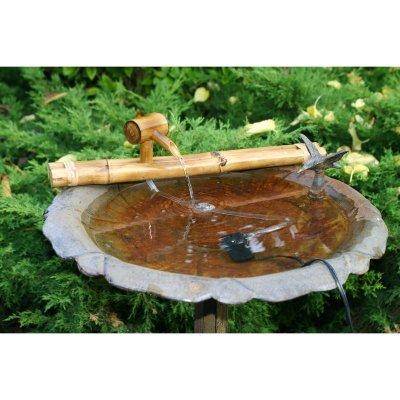 Bamboo Akzente 10110 Klassische 18 Zoll japanischen Wasser-T-lle mit Pumpe -