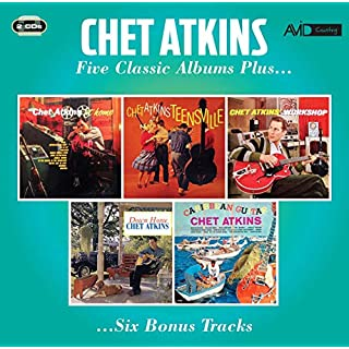 Five Classic Albums Plus (At Home / Teensville / Chet Atkins' Workshop / Down Home / Caribbean Guitar)