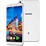 "Lenovo PB1-750P Tablet PC Smartphone Libre 4G Lte Android 5.1 (6.98"" IPS, Quad Core 64 Bits, Dual Sim, 2Gb Ram 32Gb Rom, 13Mp Camara, WIFI GPS Bluetooth, Multi-Idioma), Blanco"