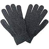Magic Mens & Womens Winter Woolen Gloves - (Grey,Free Size)