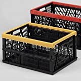 Klappbox (Kunststoff * Farbig sortiert * 32 Liter, 48 x 35 x 23,5 cm)
