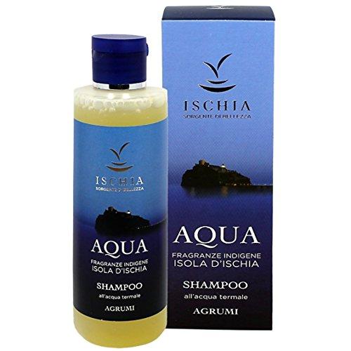 """ISB - SHAMPOO """"Aqua"""" 200 ml - Fragranza Agrumi con Acqua Termale dell'Isola d'Ischia"""